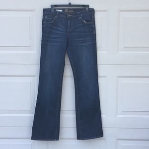 KUT FROM THE KLOTH JACKIE BOOT CUT JEANS SIZE 8